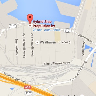 Google Maps Hybrid Ship Propulsion
